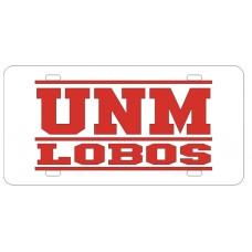 UNM LOBOS BAR WHITE - BAR