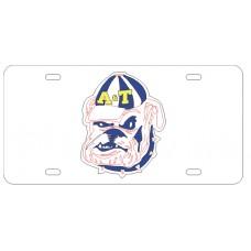 BULLDOG HEAD - License Plate