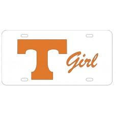 BLOCK T GIRL - License Plate