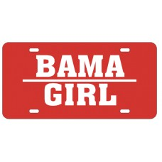 BAMA GIRL - License Plate