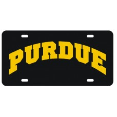 PURDUE ARCHED - License Plate