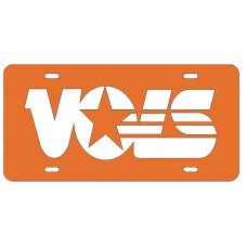 VOLS - Orange License Plate