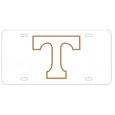 BLOCK T OUTLINED - License Plate