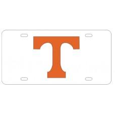 BLOCK T GLITTER - License Plate