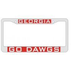 GEORGIA/GO DAWGS - CHROME