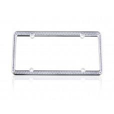 256 Chrome Lite Sapphire Frame