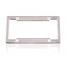 VIP Chrome Pink Frame