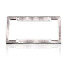VIP Chrome Pink Frame