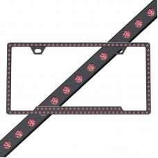 Slimline 116 Black Red Frame