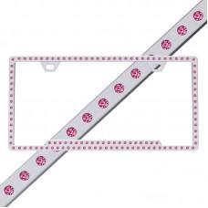 Slimline 116 Chrome Hot Pink Frame