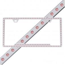 Slimline 116 Chrome Pink Frame