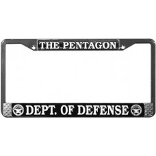The Pentagon License Plate Frame