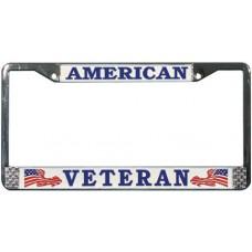 American Veteran License Plate Frame