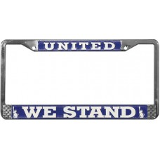 United We Stand License Plate Frame