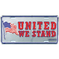 United We Stand License Plate