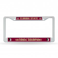 florida state bcs champs plastic license plate frame