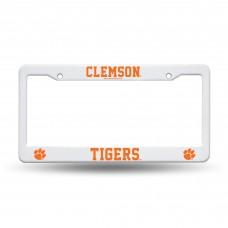 Clemson Tigers Plastic License Plate Frame