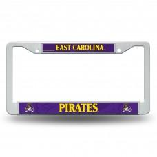 East Carolina Plastic License Plate Frame