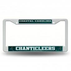 Coastal Carolina Plastic License Plate Frame