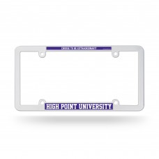 High Point EZ View Plastic License Plate Frame