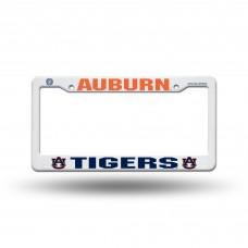 Auburn Tigers Orange/Blue Plastic License Plate Frame
