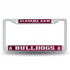 Alabama A&M Bulldogs Plastic License Plate Frame