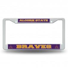 Alcorn State Braves Plastic License Plate Frame