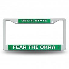 Delta State Plastic License Plate Frame