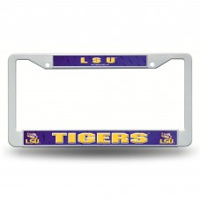 LSU Tigers Plastic License Plate Frame