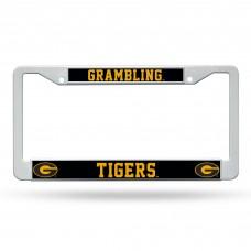Grambling St Plastic License Plate Frame