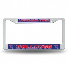 Louisiana Tech Plastic License Plate Frame
