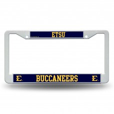 East Tennessee State Plastic License Plate Frame