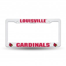 Louisville Cardinals Plastic License Plate Frame