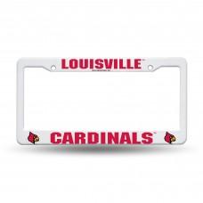 Louisville Cardinals Plastic License Plate Frame