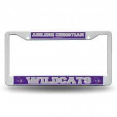 Abilene Christian Wildcats Plastic License Plate Frame