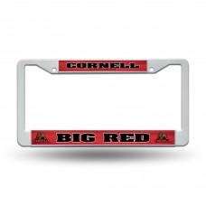 Cornell Plastic License Plate Frame