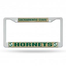 Sacramento St Plastic License Plate Frame