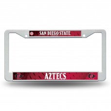 San Diego St Plastic License Plate Frame