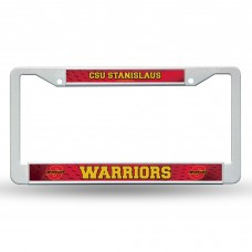 Cal State Stanislaus Plastic License Plate Frame