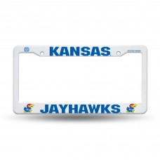 Kansas Jayhawks Plastic License Plate Frame