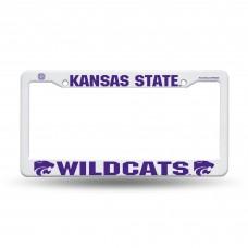 Kansas St Wildcat Plastic License Plate Frame