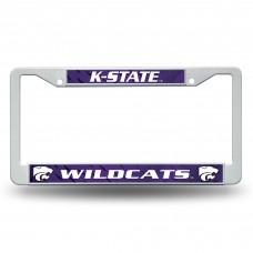 Kansas St Plastic License Plate Frame