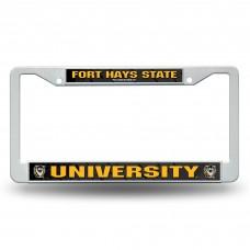 Fort Hays State Plastic License Plate Frame