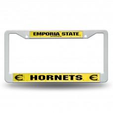 Emporia St Plastic License Plate Frame