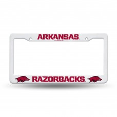 Arkansas Razorbacks Plastic License Plate Frame