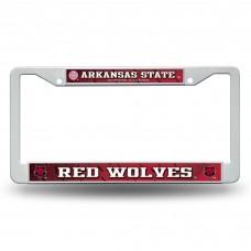 Arkansas State Red Wolves Plastic License Plate Frame