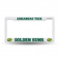 Arkansas Tech Golden Suns Plastic License Plate Frame