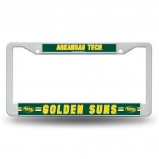 Arkansas Tech Golden Suns Green Plastic License Plate Frame