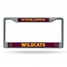 Bethune Cookman Chrome License Plate Frame