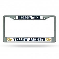 Georgia Tech Chrome License Plate Frame